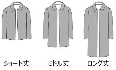 コート・着丈の長さ