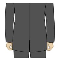スーツ・着丈