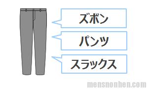 ズボン、パンツ、スラックス