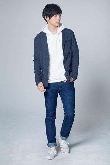ジャケットカジュアルコーデ(メンズファッションプラス)