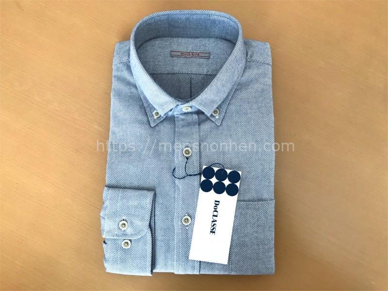 ドゥクラッセのシャツ
