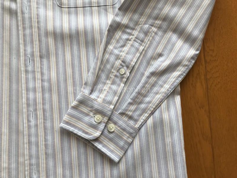 ドゥクラッセ ボタンダウンシャツ・袖