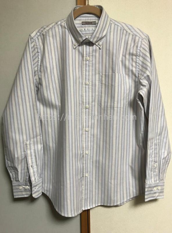 ドゥクラッセ ボタンダウンシャツ・フロント