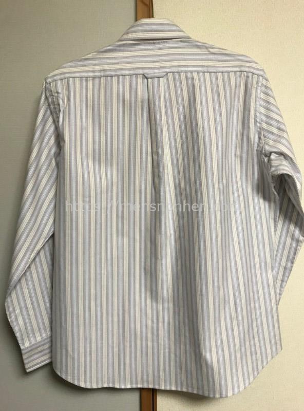ドゥクラッセ ボタンダウンシャツ・バック