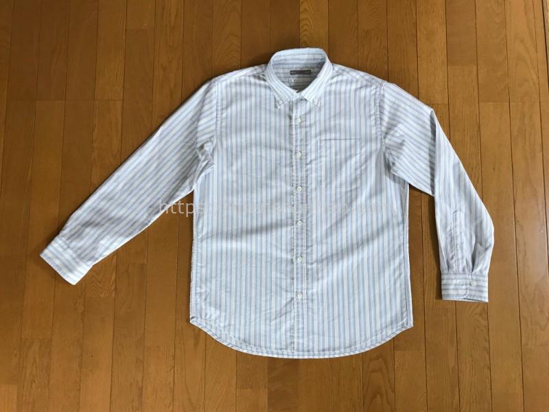 ピュアファインシャツ洗濯後