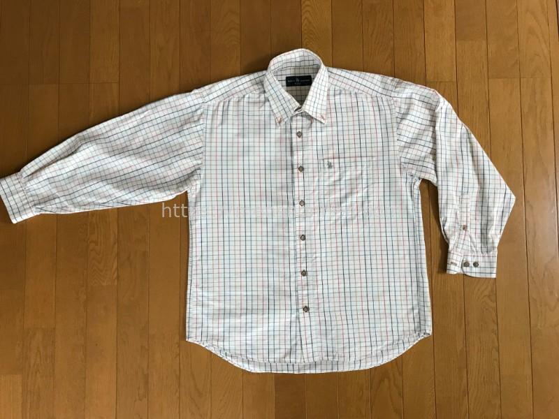 比較用コットンシャツ