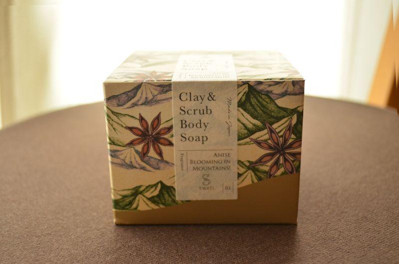 Clay & Scrub Body Soap(箱パッケージ)